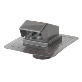 CMI Brown Plastic Square Roof Louver