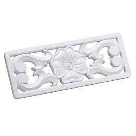 CMI 5-in x 0.75-in White Plastic Foundation Vent Cover