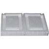 CMI 1-1/2-in x 6-1/2-in x 16-in White Foundation Vent