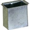 Construction Metals Inc. 1.625-in x 2.625-in Designer Profile Gutter Drop Outlet