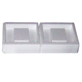 Construction Metals Inc. 5.5-in x 15.5-in Polystyrene Foundation Vent Plug