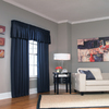 18-in L Navy Lincolnshire Tailored Valance