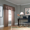 allen + roth 18-in L Tan Lincolnshire Tailored Valance