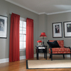 allen + roth 84-in L Red Lincolnshire Curtain Panel
