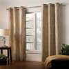 Style Selections 84-in L Oyster Eton Curtain Panel