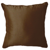Style Selections Bree 18-in x 18-in Mahogony Square Throw Pillow