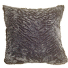 Style Selections Animal 18-in x 18-in Black Square Throw Pillow