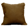 Style Selections Holden 18-in x 18-in Chocolate Square Pillow