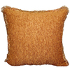 Style Selections Rocco 18-in x 18-in Gold Square Pillow