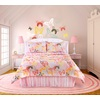 Butterflies Are Free 3-Piece Pink Twin Comforter Set