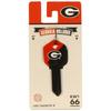 Fanatix #66 University of Georgia Bulldogs Key Blank