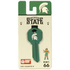 Fanatix #66 Michigan State Spartans Key Blank