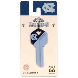 Fanatix #66 University of North Carolina Tar Heels Key Blank