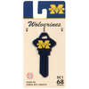 Fanatix #68 University of Michigan Wolverines Key Blank