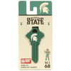 Fanatix #68 Michigan State Spartans Key Blank