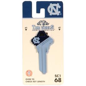 Fanatix #68 University of North Carolina Tar Heels Key Blank