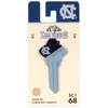 Fanatix #68 University of North Carolina Tar Heels Key Blank