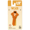 Fanatix #68 Tennessee Volunteers Key Blank