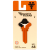 Fanatix #68 Texas Longhorns Key Blank