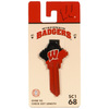 Fanatix #68 Wisconsin Badgers Key Blank