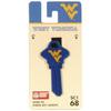 #68 West Virginia Mountaineers Key Blank