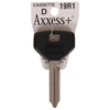 Axxess #19R1RH Double-Cut Lock Key Blank