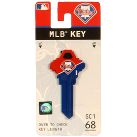 Fanatix #68 MLB Philadelphia Phillies Key Blank