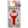 The Hillman Group #68 Write-On-It House/Entry Key Blank