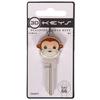 The Hillman Group #66 3D Monkey Key Blank