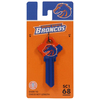 The Hillman Group #68 NCAA Boise State Broncos Key Blank