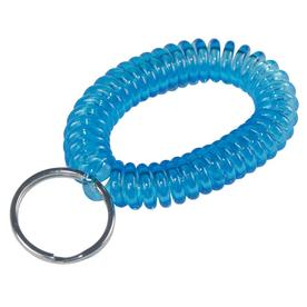 The Hillman Group No. 701304 Spiral Wrist Band Plastic Key Rings