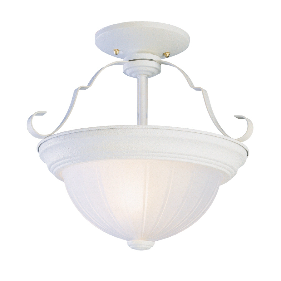 shop bel air lighting 11 in w semi flush mount light at