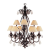 Portfolio 9-Light Taste of Elegance Enriched Iron Chandelier