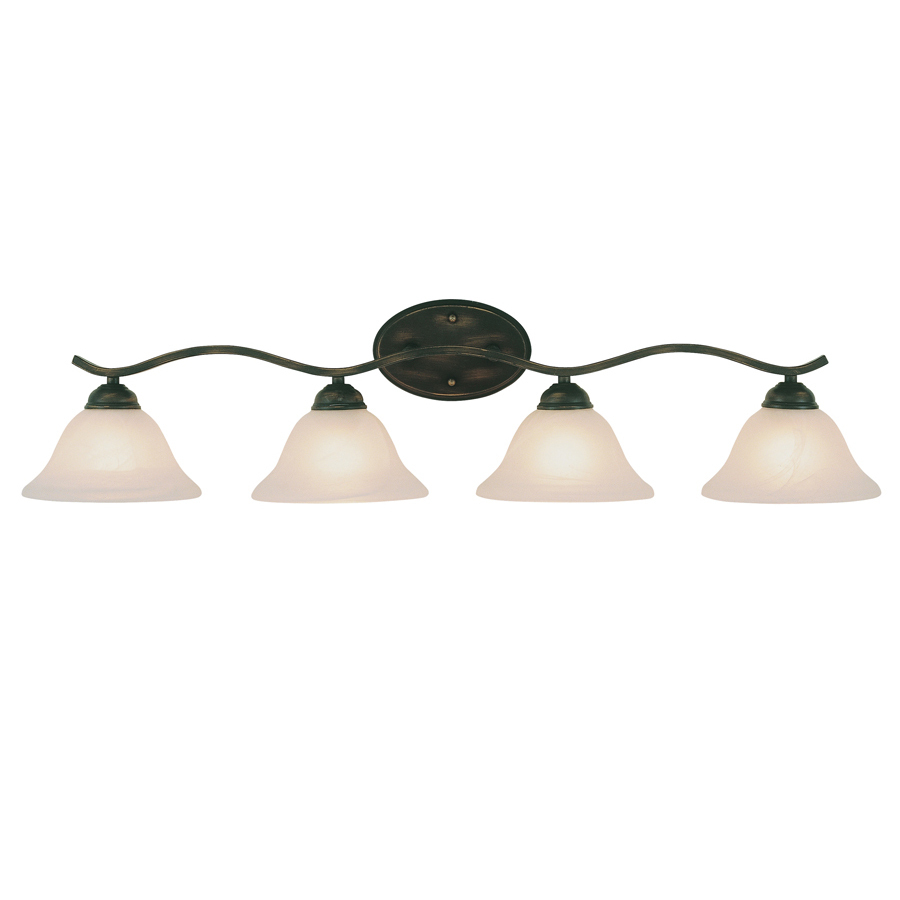 Shop Bel Air Lighting 4Light OilRubbed Bronze Bathroom Vanity Light
