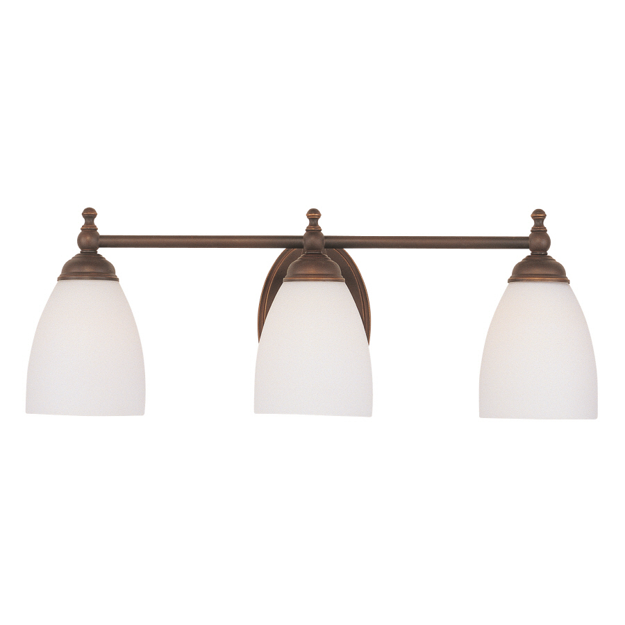 Vanity Lights For Bathroom Bronze : Enlarged Image