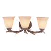 Bel Air Lighting 3-Light Replica Deer Antler Bathroom Vanity Light