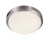 Bel Air Lighting 15-in Brushed Nickel Ceiling Flush Mount