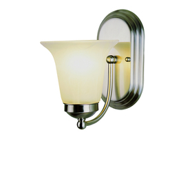 Bel Air Lighting 6-in W 1-Light Brushed Nickel Arm Wall Sconce