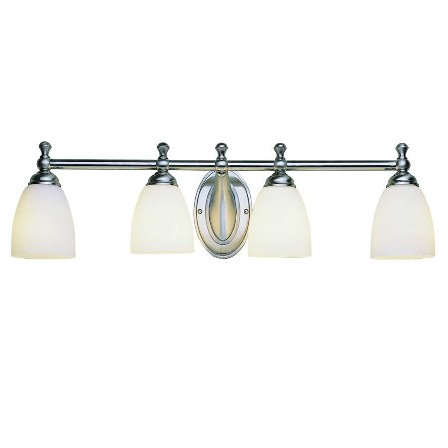 air lighting 4 light brushed nickel bathroom vanity light at. Black Bedroom Furniture Sets. Home Design Ideas