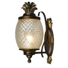 Portfolio 15-in Dark Bronze Outdoor Wall Light