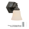 Bel Air Lighting 6-in W 1-Light Polished Chrome Arm Wall Sconce