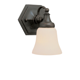 Bel Air Lighting 6-in W 1-Light Oil-Rubbed Bronze Arm Wall Sconce