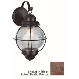 Bel Air Lighting 19-in H Oil-Rubbed Bronze Outdoor Wall Light