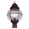 Bel Air Lighting 1 LT LARGE POST-OUTDOOR-ONION