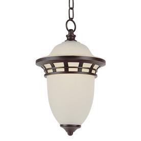 Bel Air Lighting 15-in H Bronze Outdoor Pendant Light