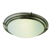 Bel Air Lighting 20-in Brushed Nickel Flush Mount