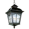 Bel Air Lighting 21-1/4-in Antique Rust Outdoor Pendant Light