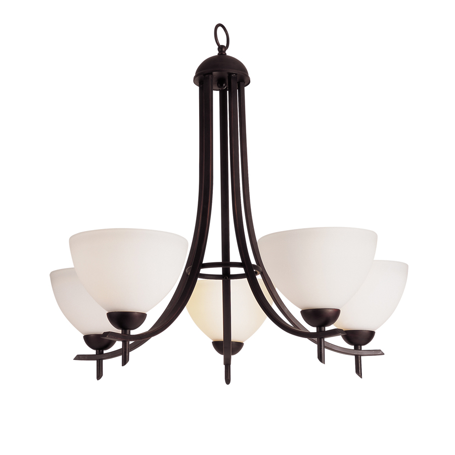 Shop Portfolio Modern Meets Traditional 5 Light Oil Rubbed