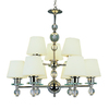 Portfolio 9-Light Modern Meets Traditional Polished Chrome Chandelier