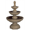 Garden Treasures 59.5-in H 3 Tier Fountain Garden Statue